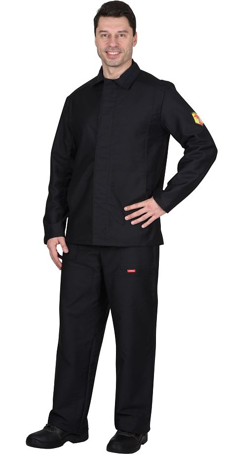 Костюм огнестойкий х/б: куртка, брюки (молескин)