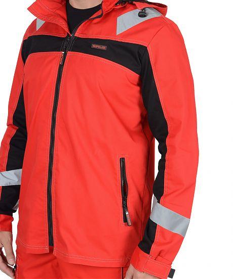 """Костюм """"СИРИУС-Сидней"""" куртка, п/к.красный. плотность 245 гр/м2"""