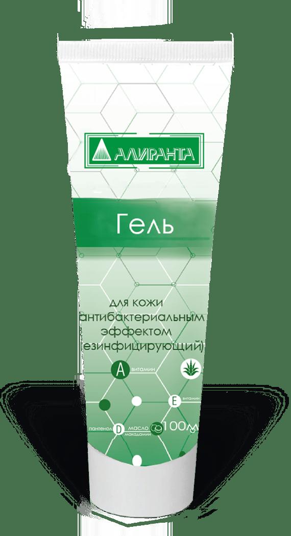 Гель антибактерицидный ТМ Алиранта 100мл Алиранта 100 (туба)