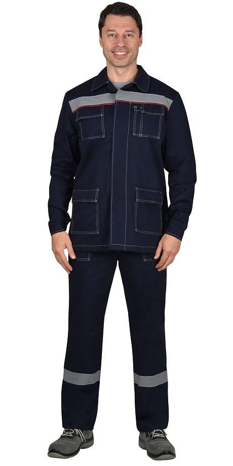"Костюм ""СИРИУС-Сфера"" куртка, брюки 100% Х/Б. пл.270 г"