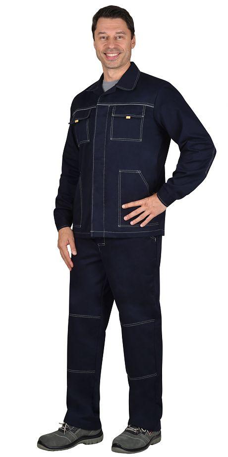 """Костюм """"СИРИУС-Труд"""" куртка, брюки 100% Х/Б. пл.270 г/м2"""