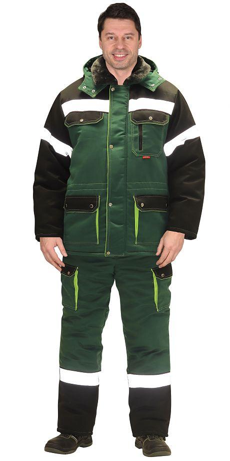 "Костюм зимний ""СИРИУС-ТИТАН"" куртка дл., полукомбинезон,зеленый"